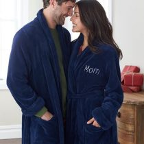 Soft Touch Luxury Fleece Robe from The Company Store